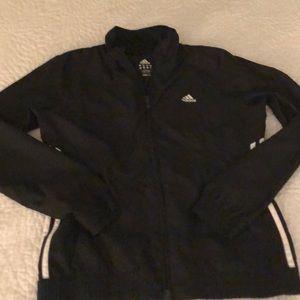 Womens Adidas Black Track Jacket